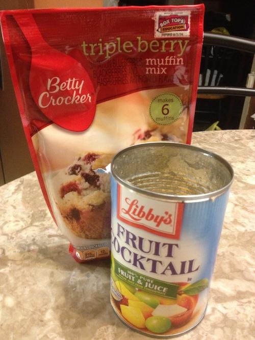 Berry Fruity Muffins Recipe