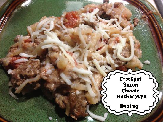 Crockpot Bacon Cheese HashBrowns Recipe