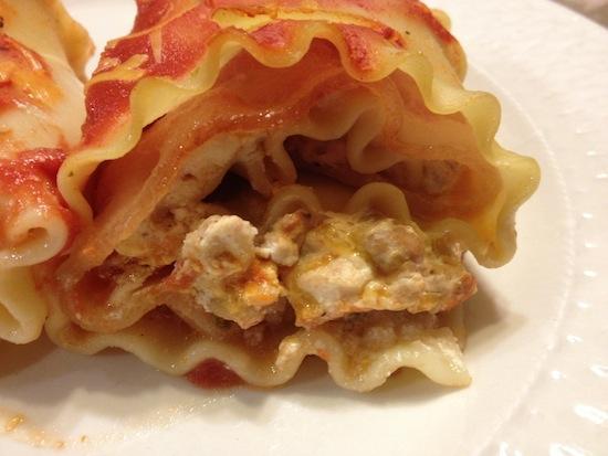 Chicken Bacon And Cheese Lasagna Rollups Recipe