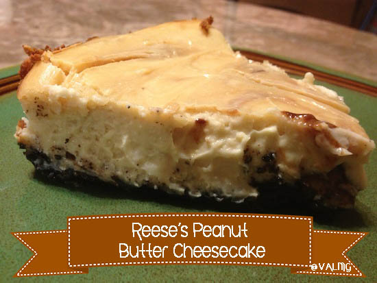 Reese's Peanut Butter #Cheesecake #Recipe