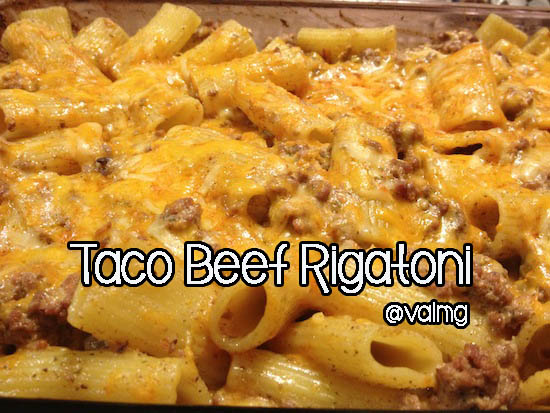 Taco Beef #Rigatoni #Recipe