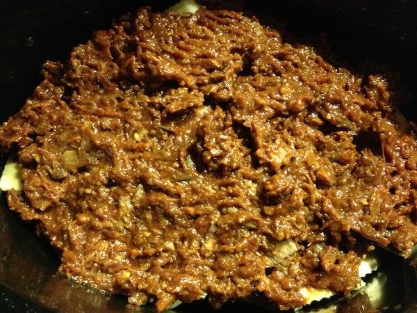 Crockpot Pulled Pork And Ravioli