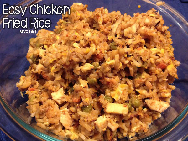 Easy Chicken Fried #Rice #Recipe