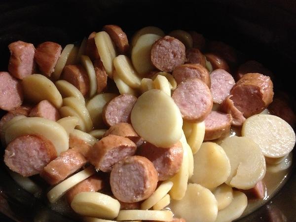 Easy Slow Cooker Smoked Sausage And Potato Casserole Recipe