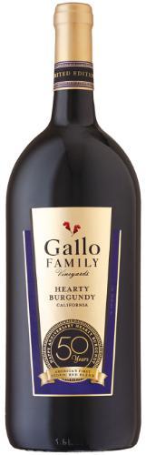 GALLO FAMILY VINEYARDS HEARTY BURGUNDY WINE