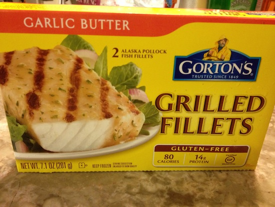 Gorton's Grilled Fish Fillets