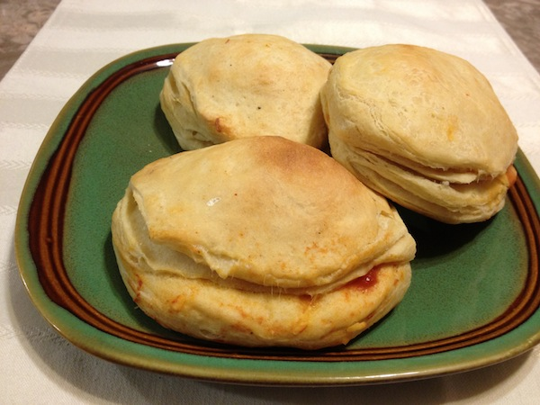 Steak And Cheese Biscuits
