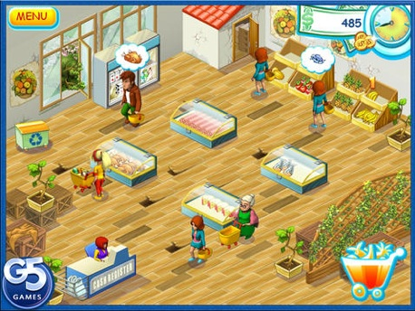 Supermarket Mania Time Management Game App From G5 Entertainment