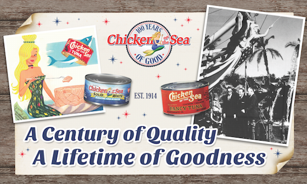 Chicken of the Sea Is Celebrating 100 Years of Good In A BIG Way! #100YearsOfGood