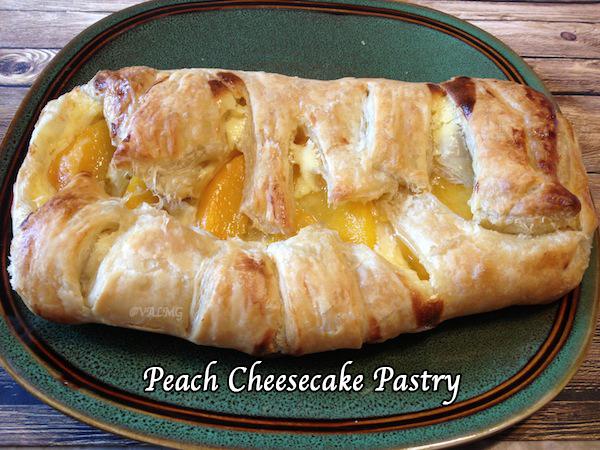 Peach Cheesecake Pastry Recipe