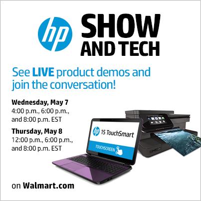 Walmart HP Show And Tech