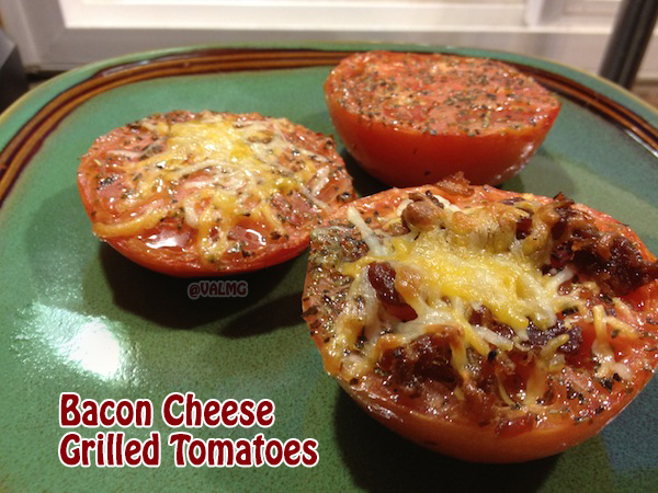 Bacon Cheese Grilled Tomatoes recipe