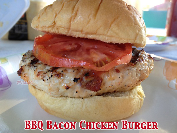 BBQ Bacon Chicken Burger recipe
