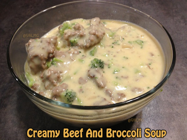Creamy Beef And Broccoli Soup recipe