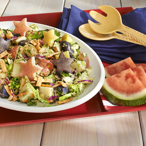Dole Star-Spangled Potato Salad recipe