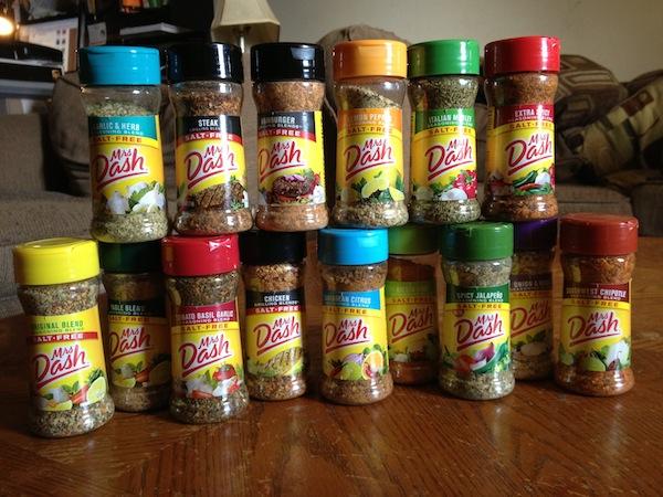 Mrs Dash Seasoning Blends