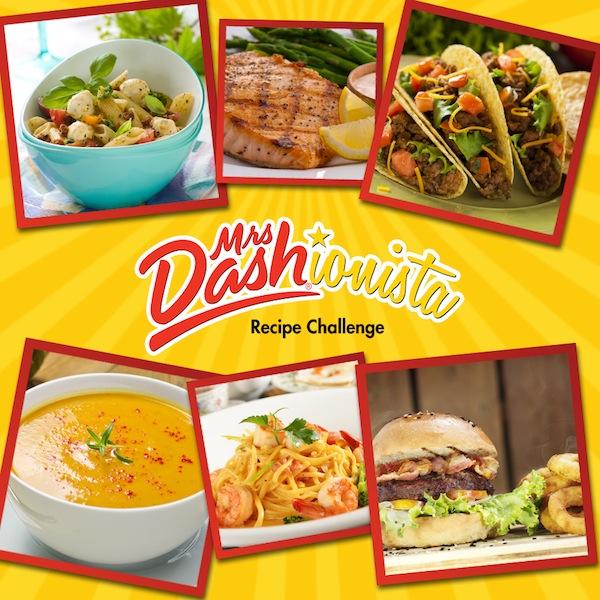 Mrs Dash Dashionista Recipe Challenge