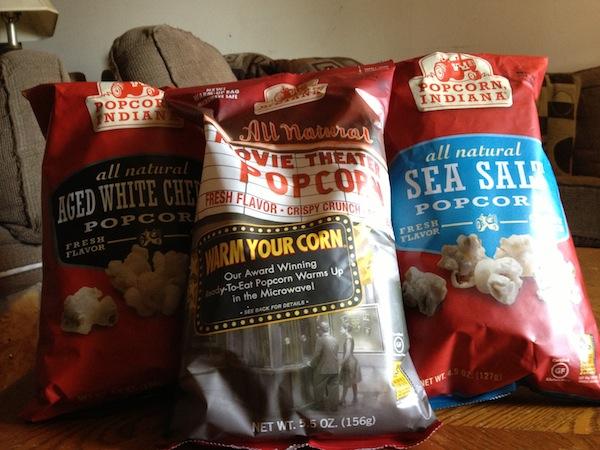 Popcorn, Indiana poprocn bags