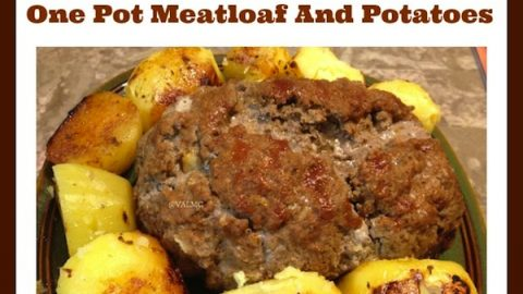 One Pot Meatloaf And Potatoes Recipe For Ninja Cooking System Mom Knows It All From Val S Kitchen