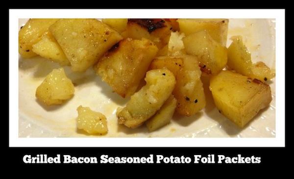 Grilled Bacon Seasoned Potato Foil Packets recipe