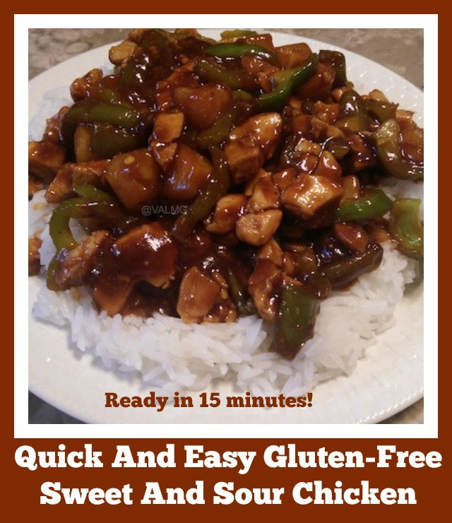 Quick And Easy Gluten-Free Sweet And Sour Chicken Recipe