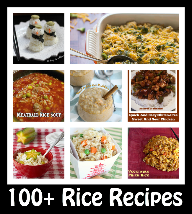 100+ Rice Recipes for National Rice Month