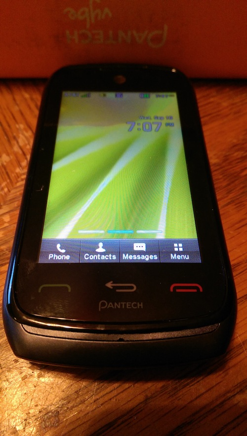 Pantech Vybe Mobile Phone