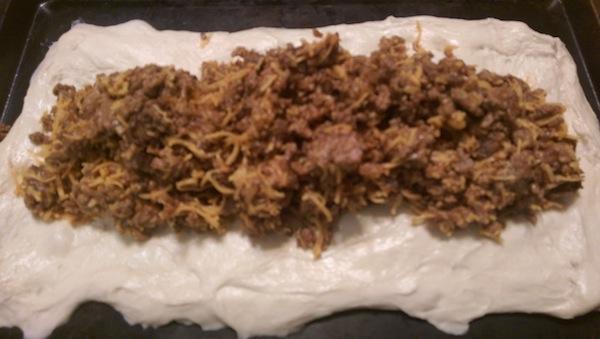 Bacon Cheeseburger Calzone Recipe