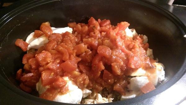 Crockpot Chicken Ziti Recipe