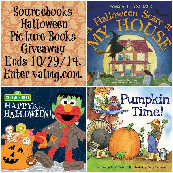 Sourcebooks Halloween Picture Books