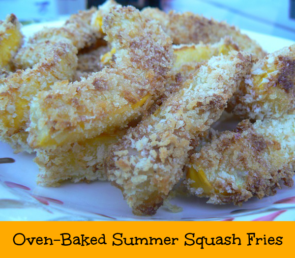 Oven-Baked Summer Squash Fries recipe