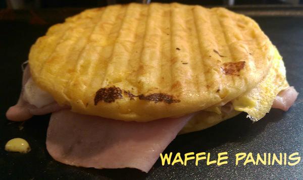 waffle panini recipe
