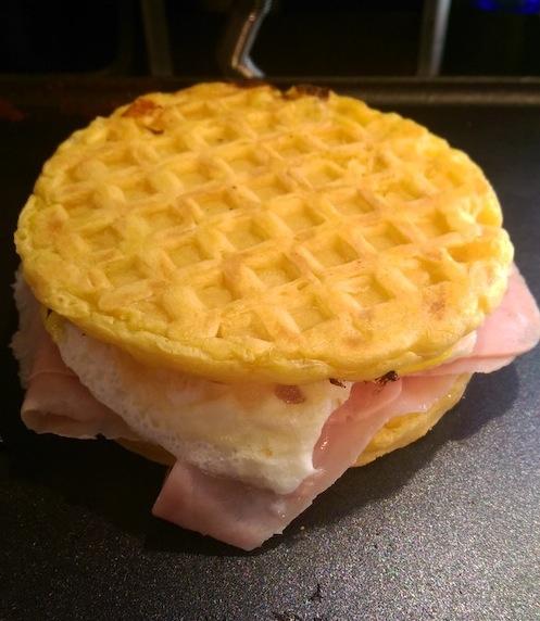 waffle paninis