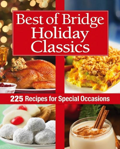 Best Of Bridge Holiday Classics Cookbook