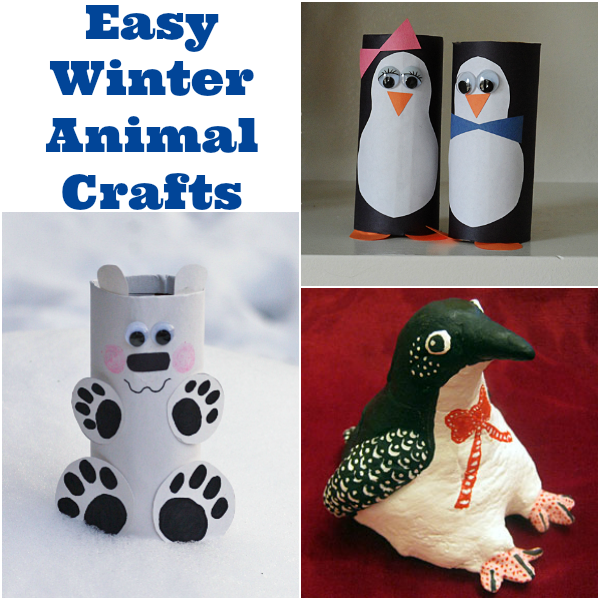 Easy Winter Animal Crafts