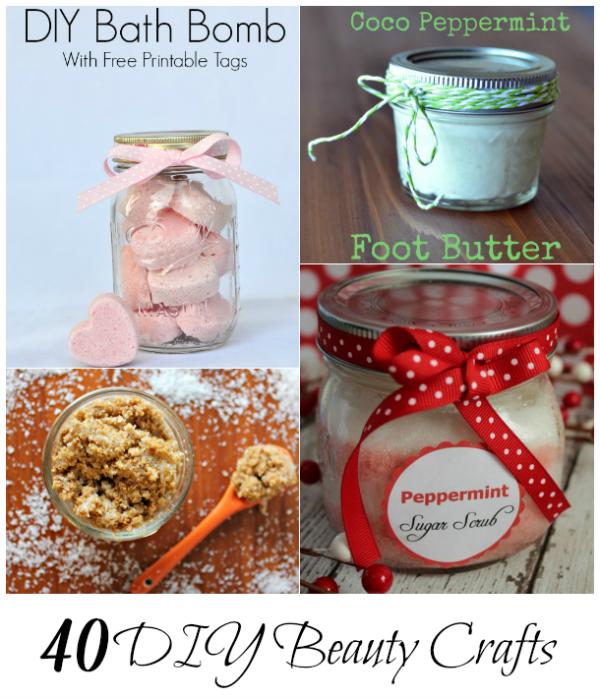 40 DIY Beauty Crafts