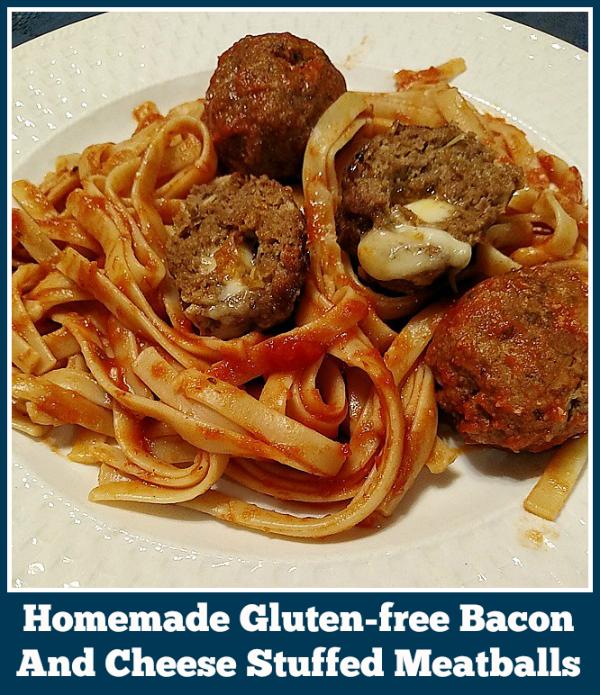 Gluten-free Bacon And Cheese Stuffed Meatballs recipe