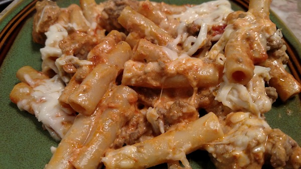Meaty Ziti Recipe