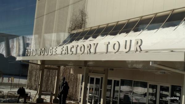 Ford Rouge Factory Tour, Dearborn, MI #FordNAIAS 2015
