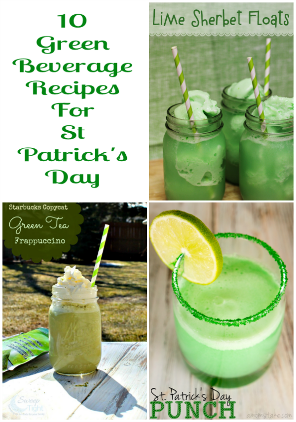 10 Green Beverage Recipes For St Patrick's Day