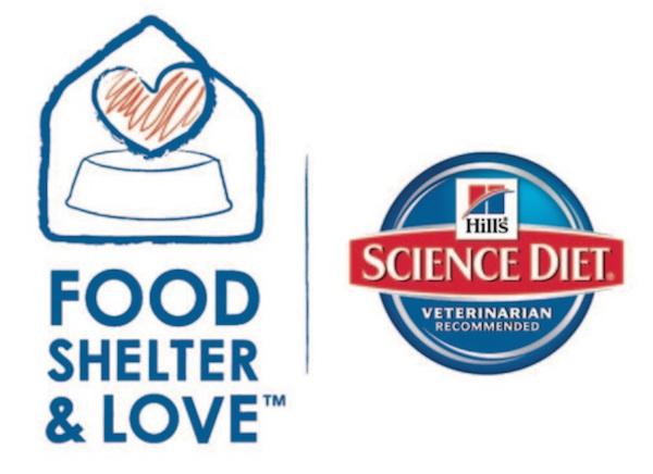 Hill's #FoodShelterLove
