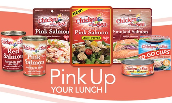 Chicken Of The Sea - Salmon - Pink Up Your Lunch