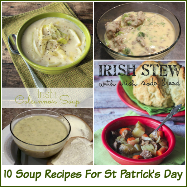 10 Soup Recipes For St Patrick's Day