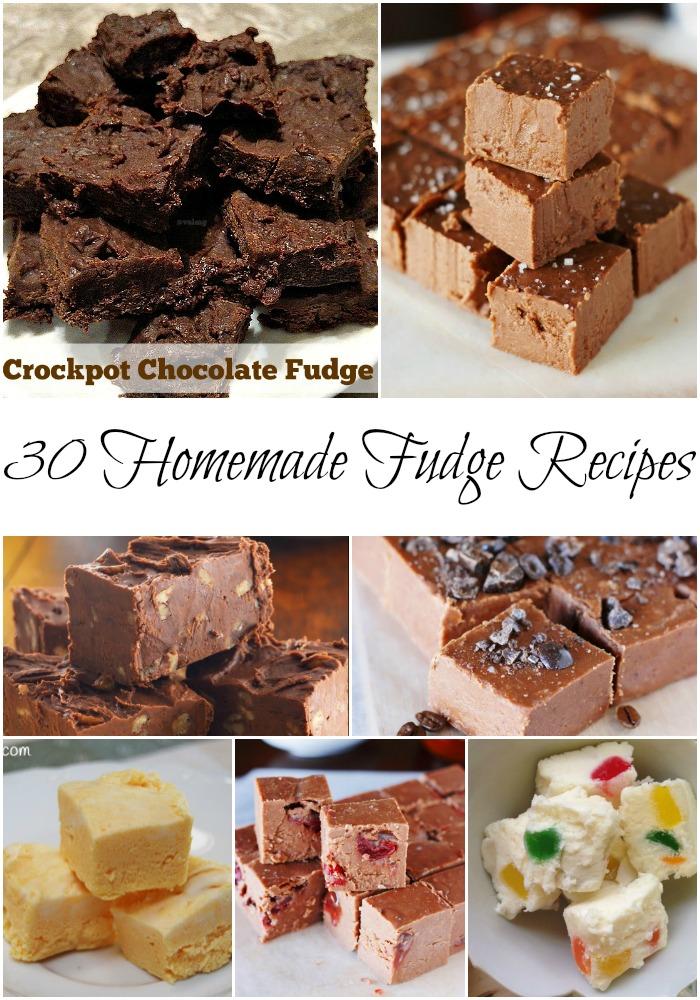 30 Homemade Fudge Recipes - National Fudge Day