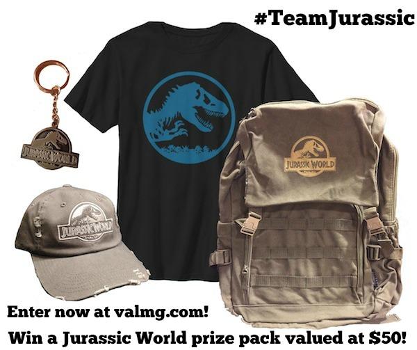 Jurassic World Merchandise Giveaway #TeamJurassic