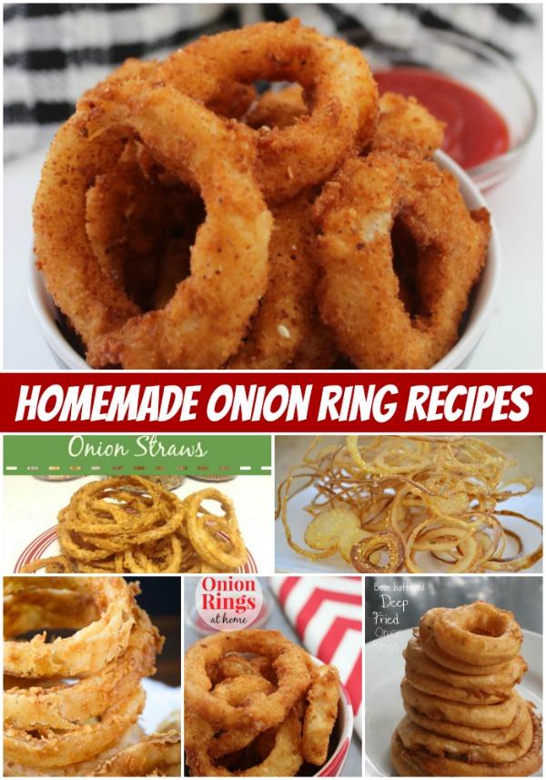 Homemade Onion Ring Recipes