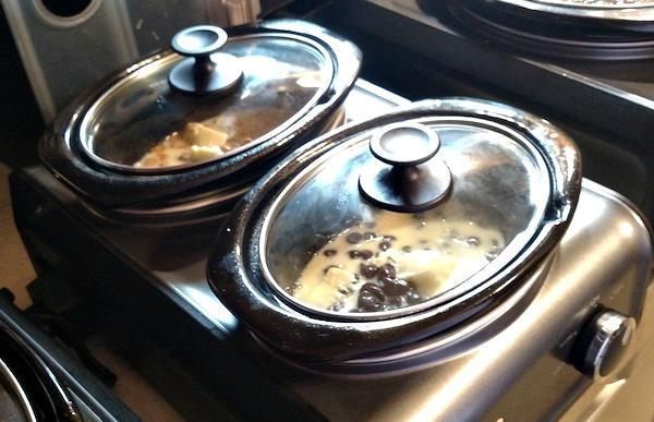 fudge in Crock-Pot