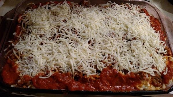 Sausage And Spaghetti Pie recipe