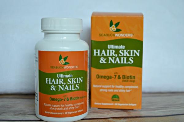 Seabuck Wonders Ultimate Hair, Skin & Nails with Omega-7 and Biotin