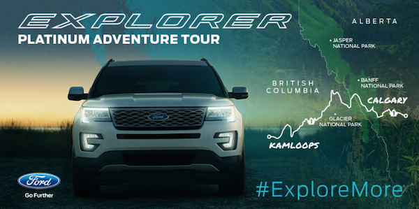 Time To #ExploreMore! Roadtrip From Kamloops to Calgary In A 2016 Ford Explorer Platinum